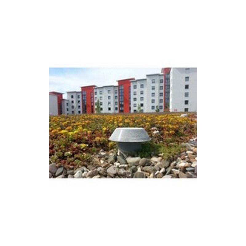 Maisons individuelles groupées et bâtiments résidentiels collectifs. Test de perméabilité à l'air (infiltrométrie) RT2012 départ