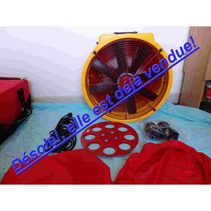 Vendu Ventilateur porte Blower Door Retrotec 1000 Occasion.