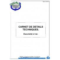 Carnet de détails techniques général bâtiment.
