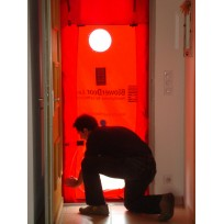 Porte Blower Door Minneapolis Occasion Calibrée