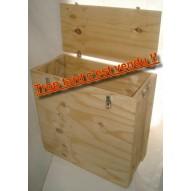 Caisse bois pour ventilateur