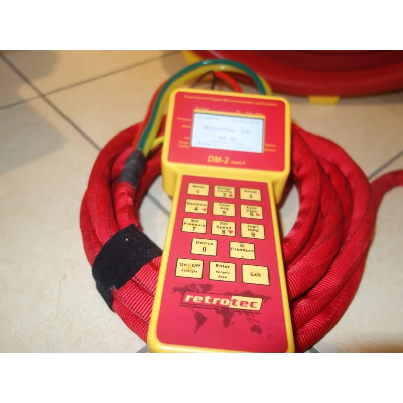 Porte Blower Door Retrotec SR3300 Ventilateur Calibré Jauge DM2